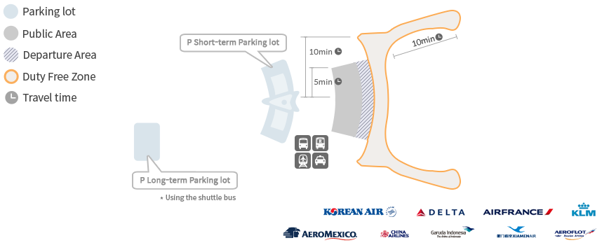 Incheon Airport Map Incheon Airport
